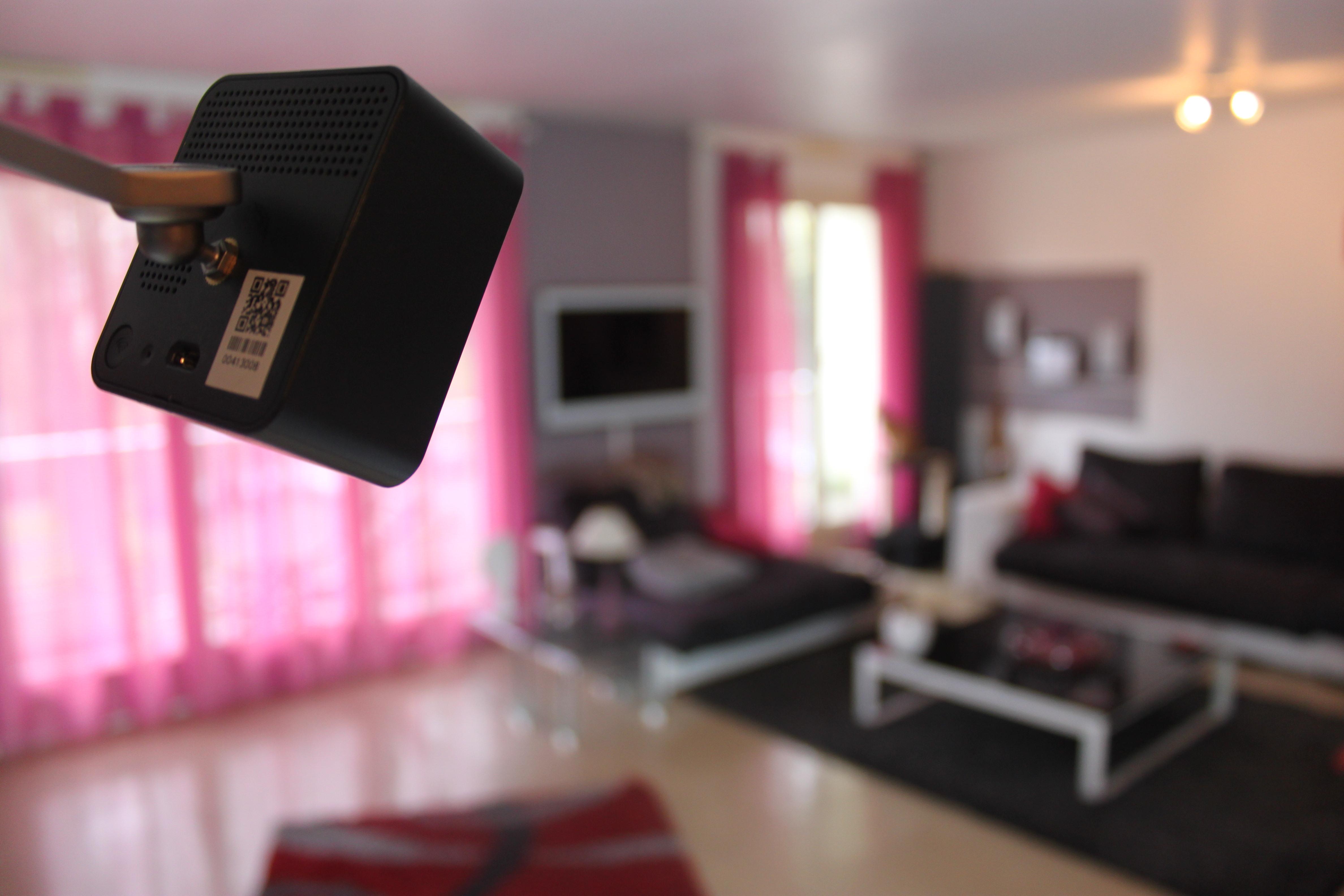 Caméra connectée securitas